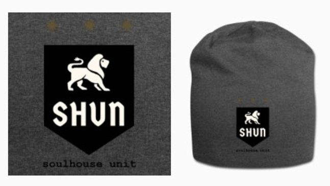 Unisex SHUN Logo Wooly Hat (Grey)