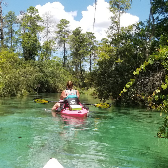 Florida, FL, Kayaking Tours, Weeki Wache