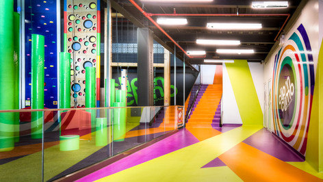 Clip & Climb Amusement arcade | ELE Architectos (Panama)