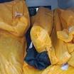 22 शवों को एक ही एम्बुलेंस में शमशान लाया गया, और एक चिता पर 3-3 शवों का अंतिम संस्कार