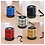 Thumbnail: PORTABLE WS-887 Bluetooth Portable Speaker ( Assorted )
