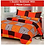 Thumbnail: JBG Home Store Microfibre 1 Double Bedsheet with 2 Pillow Covers