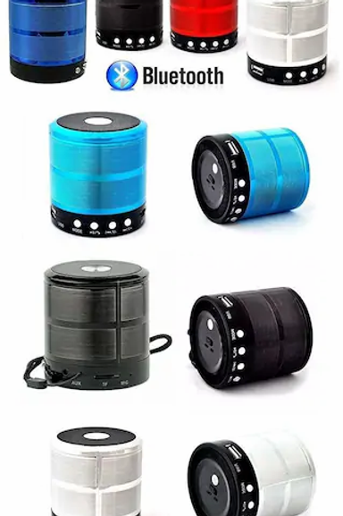 PORTABLE WS-887 Bluetooth Portable Speaker ( Assorted )