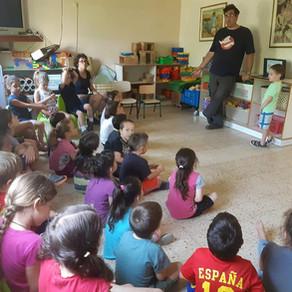 מפגש בגן ילדים
