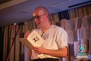 Andrew McMillan at MK Lit Fest 2018