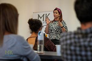 Tracy Buchanan at MK Lit Fest
