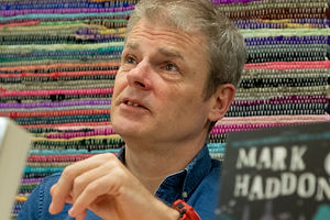Mark Haddon at MK Lit Fest 2018