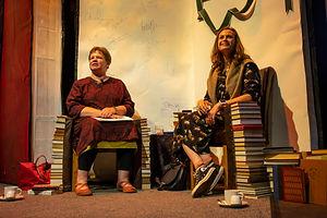 Jane Charles (l) and Kassa St Clair (r)
