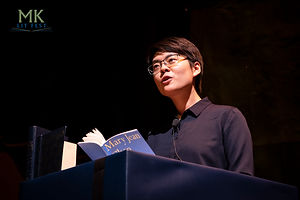 Mary Jean Chan at MK Lit Fest