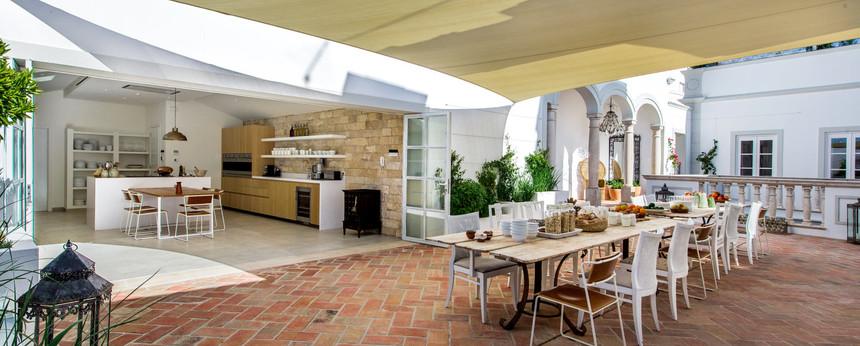 Kitchen terrace