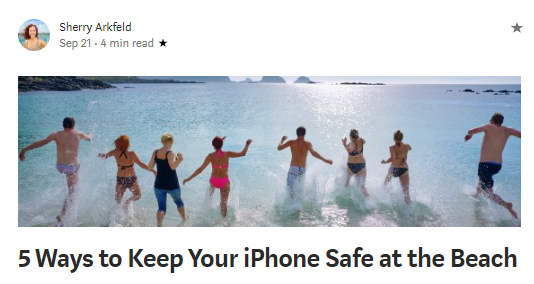 5 ways to keep your phone
