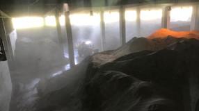 Du port minéralier à la déchetterie