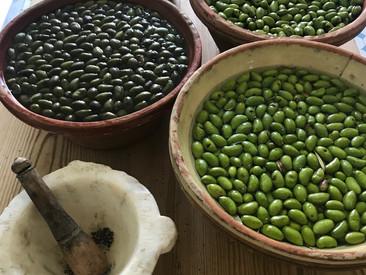 Les olives cassées
