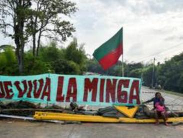 Vive la lutte des Indiens quechuas !