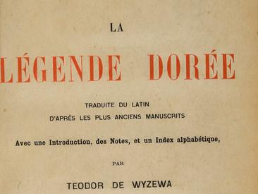 Vous avez lu Jacques de Voragine ?