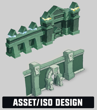 Josh Godin - Assets and Isometric Design