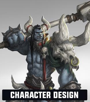 Josh Godin - Character Concept Art