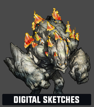 Josh Godin - Digital Sketches