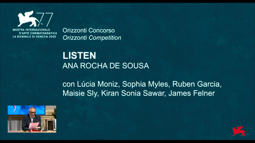 Official Selection - Orizzonti Competition