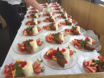 Mis-en-place Dessertteller