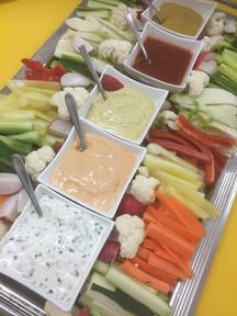 Gemüsesticks & Dip