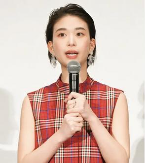 PRESS 森川葵さん 映画完成披露試写会