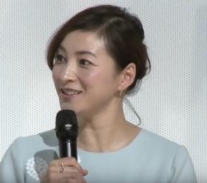 PRESS 広末涼子さん 映画公開前イベント