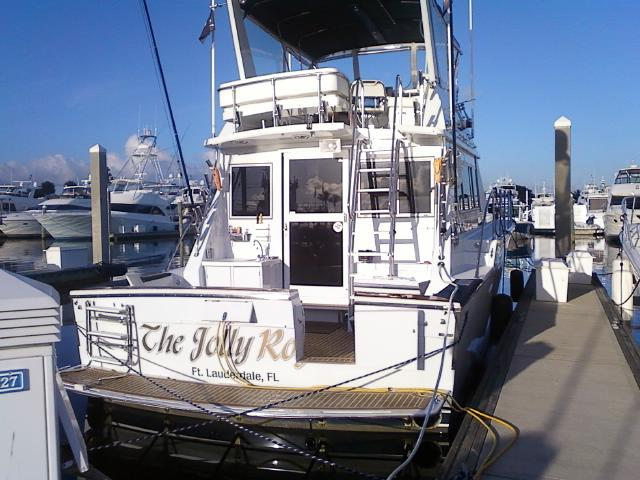 Just docked _The Jolly Rogers_  heading to West End Grand Bahamas tomorrow bright and early