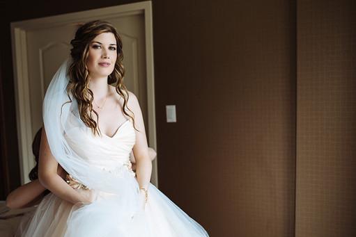 Bridal make-up in Calgary