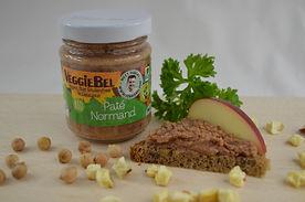 Organic Vegan Paté Normand with Apples