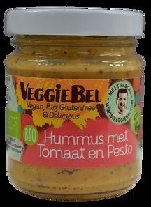 VeggieBel Hummus pesto zonder achtergron