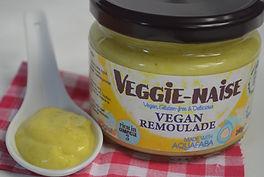 Sauce Remoulade BIO végétalienne à l'Aquafaba