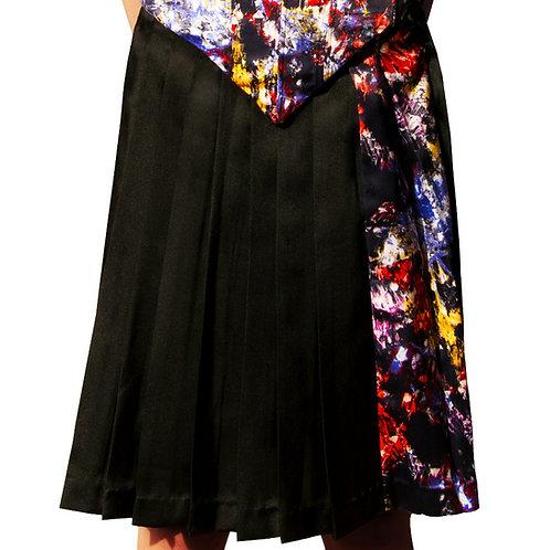 Acuarela Pleated Skirt