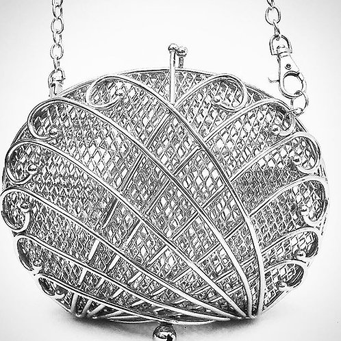 Perla Sculpture Bag - Olas Cruzadas