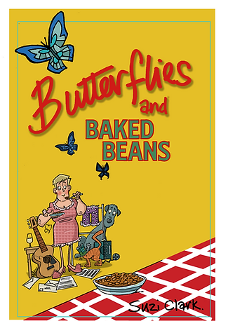 Butterflies and Baked Beans Book Suzi Clark