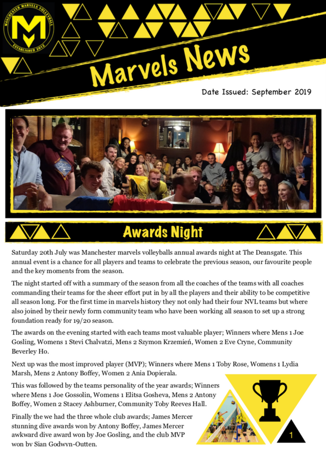 Marvels News - September