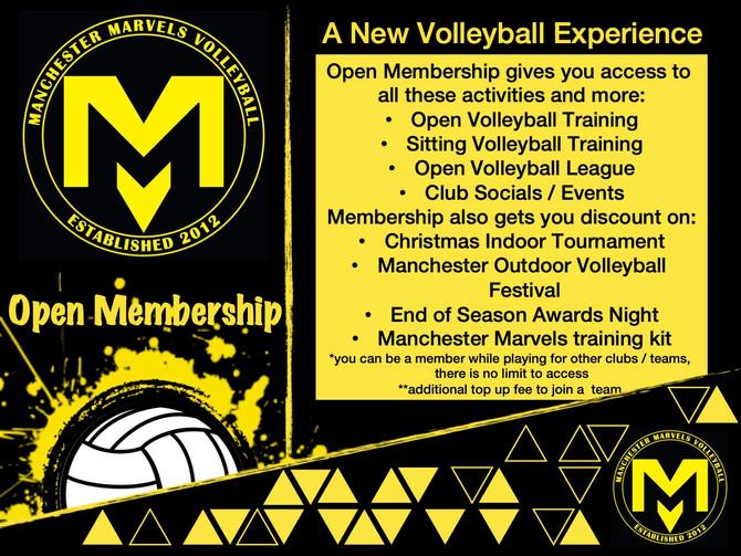 Open Membership is here!