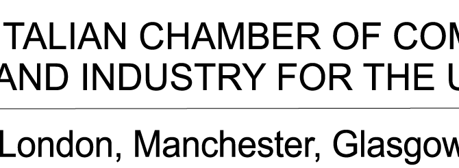 Supported by Italian Chamber of Commerce and Industry for the UK