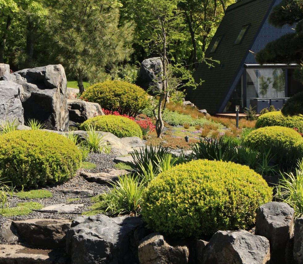 Zen Garden Resort zen kert / zen garden