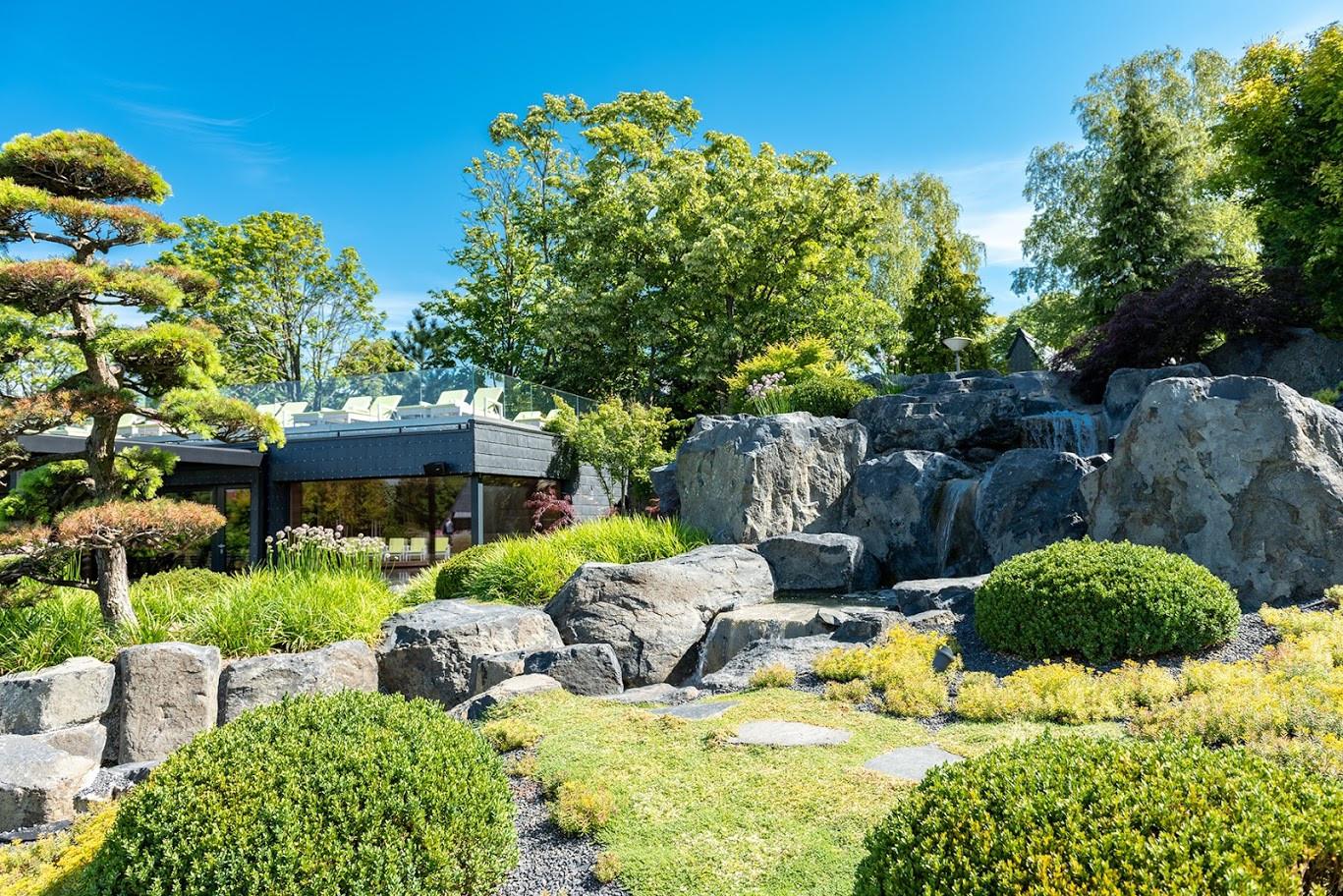 Zen Garden Resort szaunaház / sauna  house