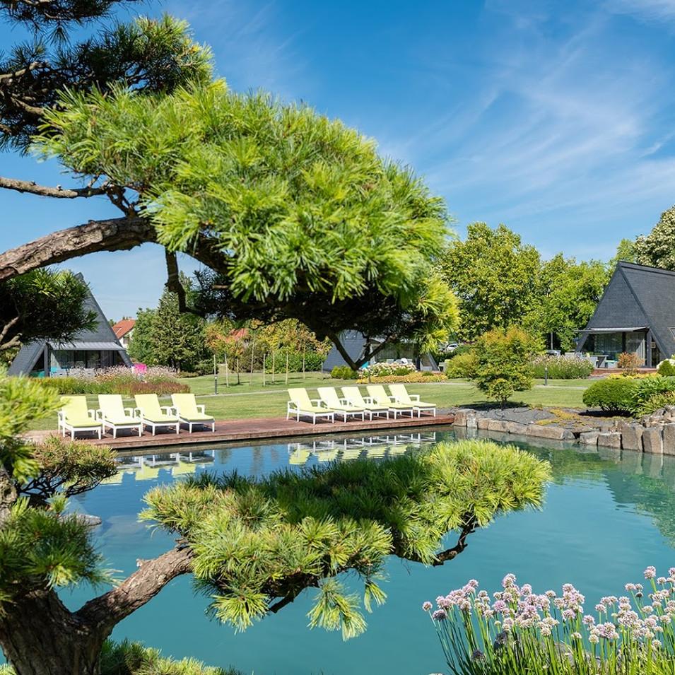 Zen Garden Resort fürdőtó / bathing lake