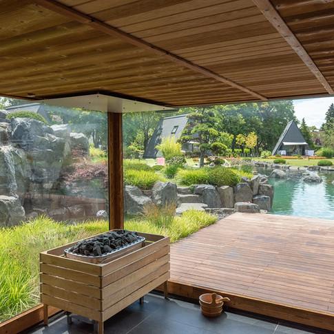 Zen Garden Resort szauna / sauna