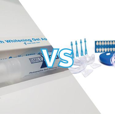 Salon Teeth Whitening Treatment versus Home Kits?