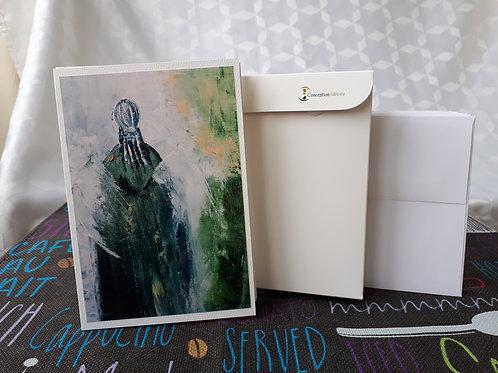 Paquet de 10 cartes différentes - Série Spiritualité