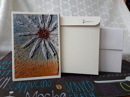 """Paquet de 10 cartes différentes - Série """"Les Fleurs"""""""