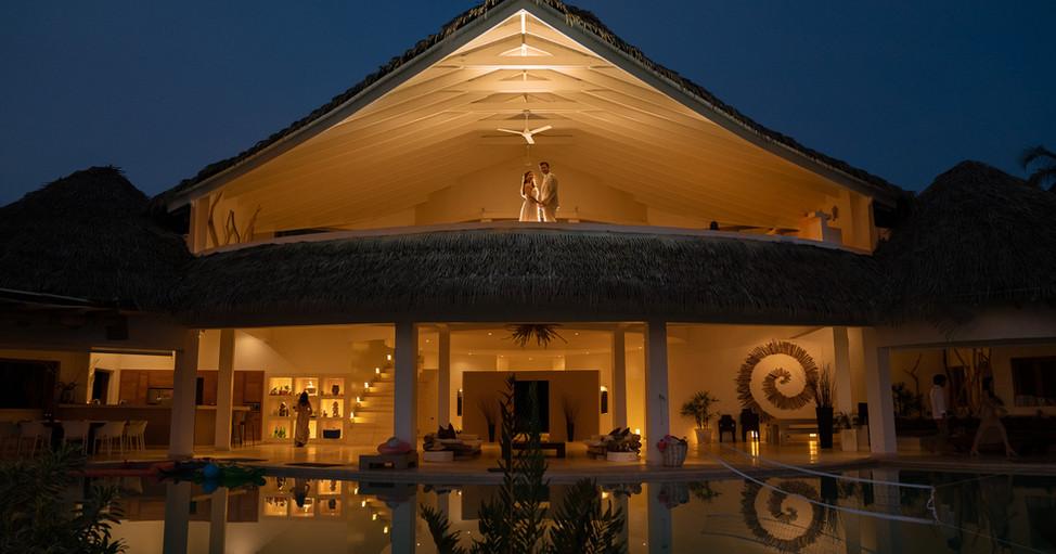 Villa Del Mar Wedding - 6 terrace mood l