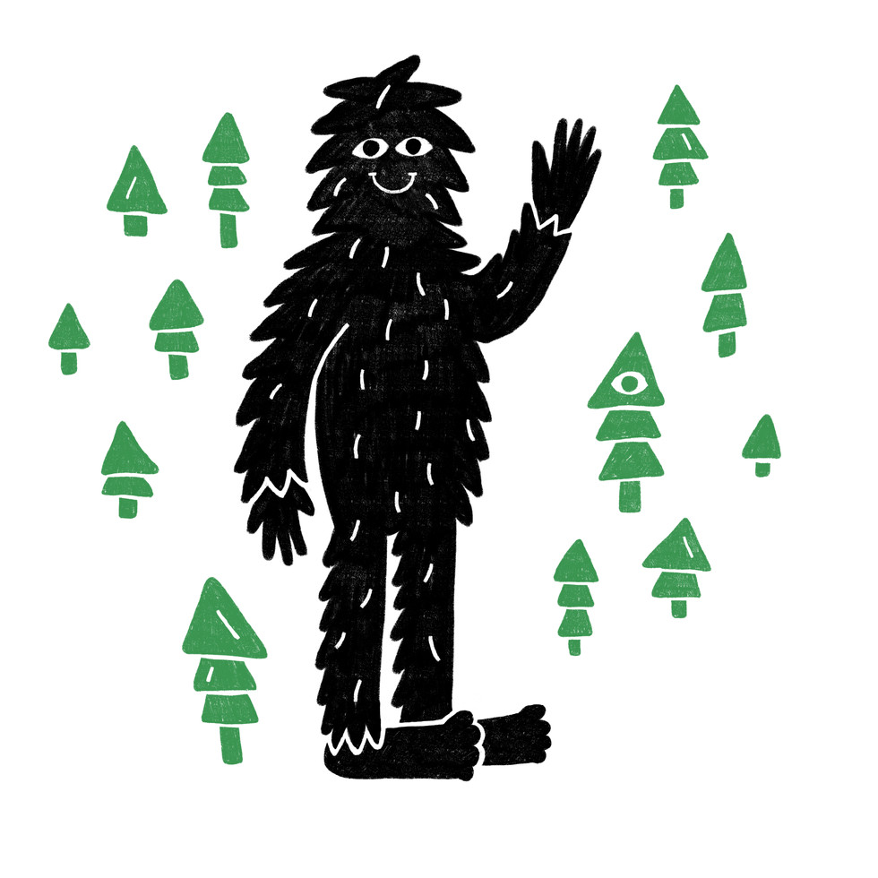 I want to believe in.. bigfoot