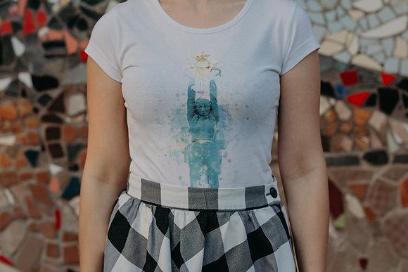 """Sieviešu t-krekls """"Brīvība"""""""