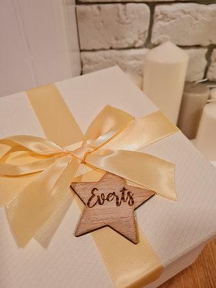Personalizēts dekors dāvanām