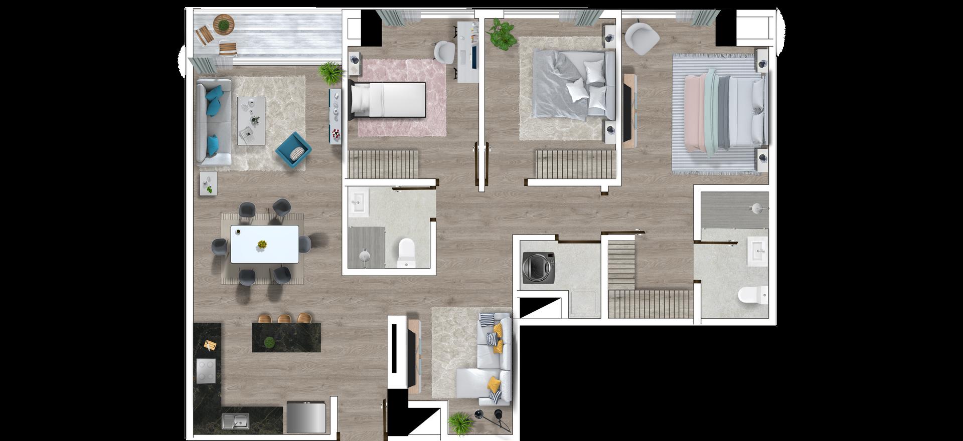 Apartamento 103.